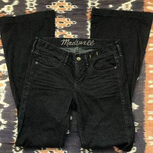 Madewell darkwash flare jeans size 27